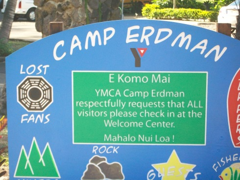 YMCA Camp Erdman welcomes LOST fans.